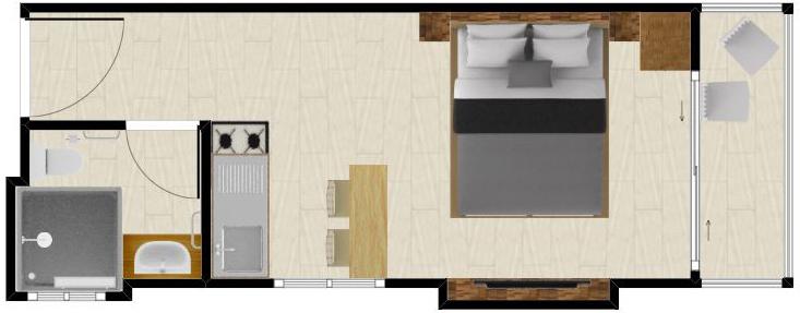 Apartamento Riviera Loft