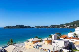 Vista desde Pousada Riviera Bombinhas